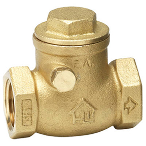 "2"" IPS BRASS SWING CHECK VALVE 150lb WOG-AB1953"
