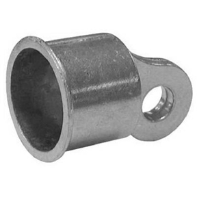 "1-3/8"" ALU RAIL END CUP"