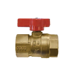 "1/2"" LEVER HDLE GAS COCK VALVE BALL TYPE"