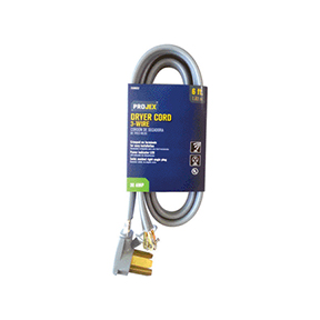PROJEX 10GA 6' INDOOR  DRYER APPLIANCE CORD