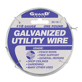 18 GAUGE GALVANIZED TIE WIRE