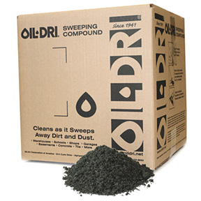 50lb OIL DRI GREEN SANDED SWEEPING COMPOUND