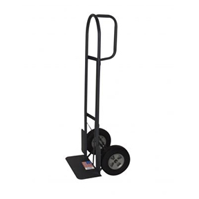 "D-HANDLE TRUCK 18"" WIDE TOE PLATE,WHEEL GUARDS, 10"""