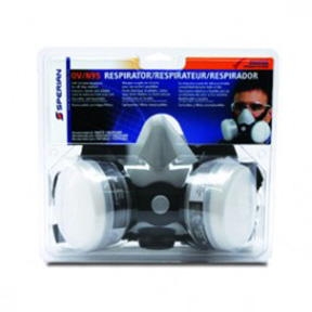 SPERIAN 1/2 MASK-LARGE MULTI PURPOSE RESPIRATOR