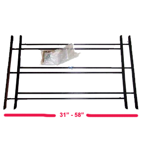 3 BAR LARGE WINDOW GUARD 31-58