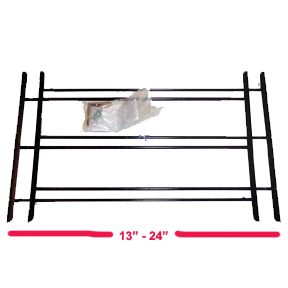 3 BAR SMALL WINDOW GUARD 13-24