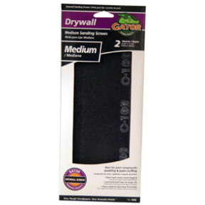 "2 PK 4-1/4"" x 11-1/4"" 100 GRIT DRYWALL SANDING SCREEN"