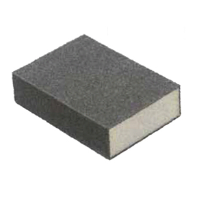 3-7/8 X 2-5/8 X 1 80/46 GRIT MEDIUM/COARSE SANDING SPONGE