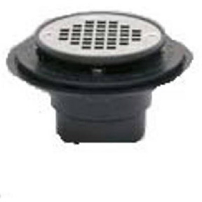"2"" X 3"" PVC CERAMIC SHOWER DRAIN-USE W/SHOWER PANLINER"