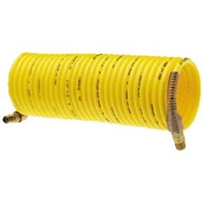 1/4 X 25' YELLOW RECOIL AIR HOSE