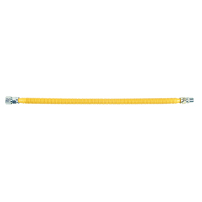 "72"" YELLOW COATED S/S  GAS SUPPLY LINE"