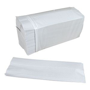 C-FOLD WHITE TOWELS
