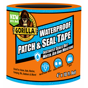 "4"" X 10' GORILLA WATERPROOF PATCH & SEAL TAPE"