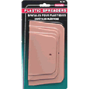 3pk PLASTIC SPREADERS BONDO