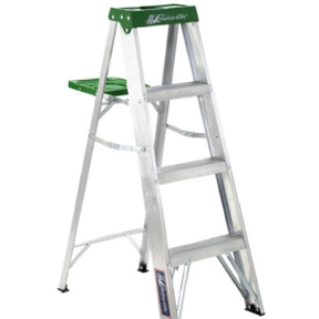 4' ALUMINUM LADDER TYPE II COMMERCIAL