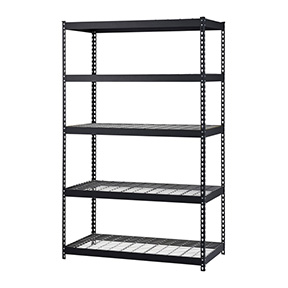 5 LEVEL HD WIRE SHELVING MUSCLE RACK