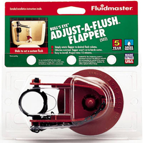 ADJUSTABLE FLUSH FLAPPER