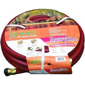 "5/8"" X 25'  H/D RED HOT WATER HOSE"