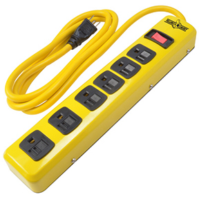 6 OUTET POWER STRIP-6' CORD