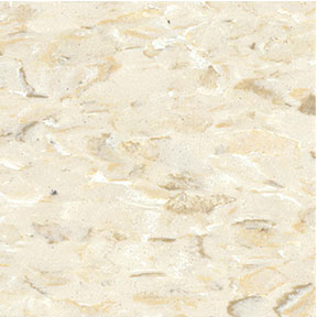 "#533 12"" X 12"" TRUE BEIGE VINYL TILE"