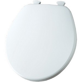 #540 WHITE CHURCH TOILET SEAT