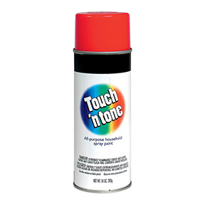 10oz TOUCH N TONE CHERRY RED  SPRAY PAINT
