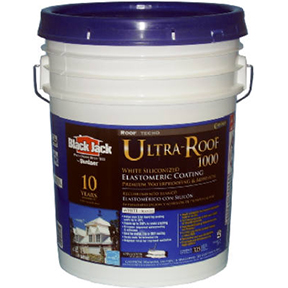 5 GAL WHITE ROOF COATING PAINT