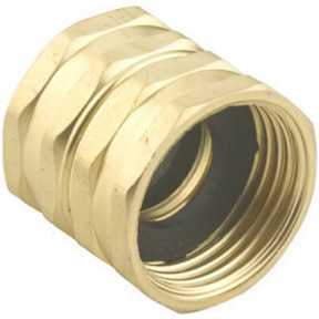 "3/4"" NH x 3/4"" NH BRASS SWIVEL FEMALE HOSE ADAPTER"
