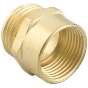 "3/4"" NH MALE x 3/4"" NPS FEMALE BRASS HOSE ADAPTER"