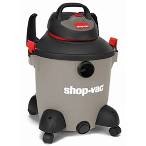 10 GAL 11.3 AMP 5.0PHP WET/DRY SHOP VAC