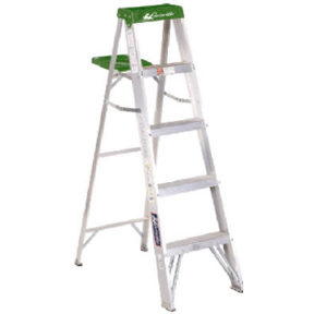 5' ALUMINUM LADDER TYPE II 225lb CAPACITY