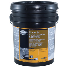 5 GAL NON-FIBERED ROOF & FOUNDATION COATING