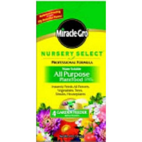 4lb MIRACLE GRO PLANT FOOD