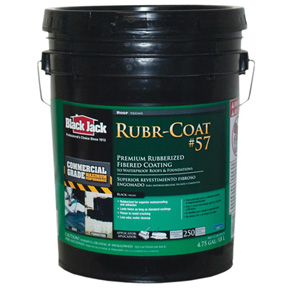 BLACK JACK 5 GAL RUBBER ROOF COAT