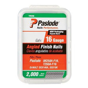 16 GAUGE 1-1/2 ANGLE FINISH NAIL-2000 CT