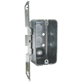 "1-7/8"" DEEP HANDY BOX TS TYPE SIDE BRACKET 8 1/2"" KNOCKOUTS"