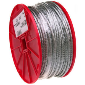 "1/4"" GALV AIRCRAFT CABLE"