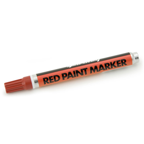 RED MED. POINT PAINT MARKER