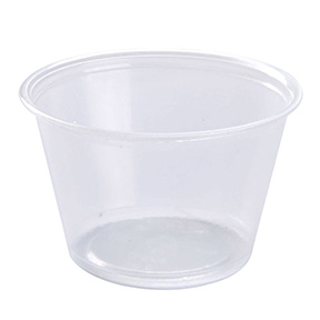 4 OZ PORTION CUP 125 PER PACK/2500 PER CASE