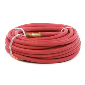 "1/4"" X 50' RED RUBBER AIR HOSE"