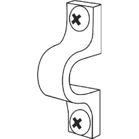 PK 12 CONCRETE STUD U SHAPED SHELF CLIPS #7561