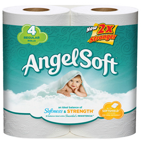4 PACK 2 PLY TOILET TISSUE