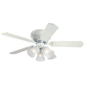 "42"" CONTEMPRA WHITE CEILING FAN 3 LITE"