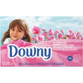 34CT DOWNY APRIL DRYER SHEETS