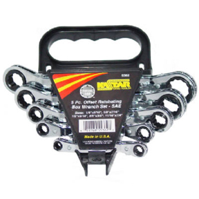 SAE OFFSET RATCHET SET 5/16-3/4