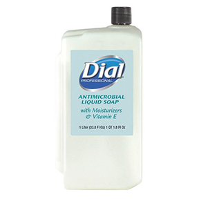 DIAL 1000ML ANTIMICROBIAL LIQUID MOISTURIZING HAND SOAP
