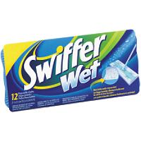 WET SWIFFER REFILL 12 PACK