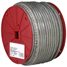 "1/4"" X 200' COATED GALVANIZED AIRCRAFT CABLE"
