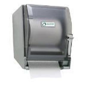 SMOKE LEVER JUMBO ROLL TOWEL DISPENSER