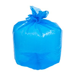 38X55 BLUE RECYCLE GARBAGE BAG 100pk-#2104